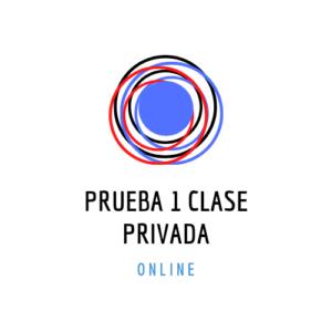 Prueba Clase Privada On-Line