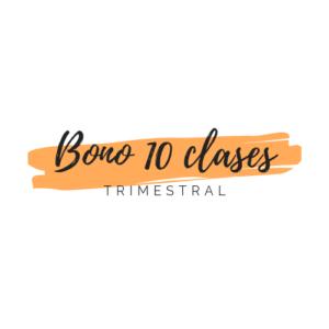 Bono de 10 Clases Presenciales Caducidad Trimestral