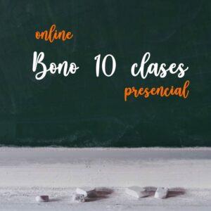 Bono de 10 Clases Trimestral