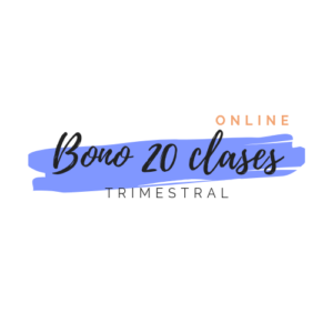 Bono de 20 clases de yoga online  Trimestral