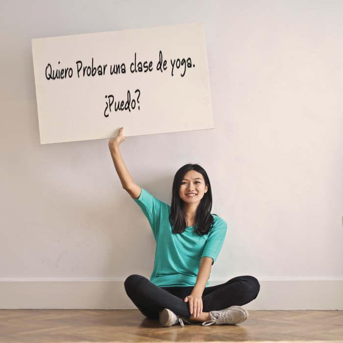 ¿Quieres empezar a practicar yoga?