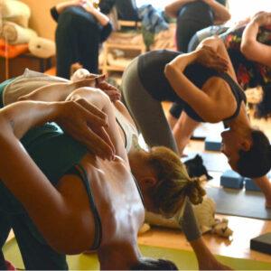 Mañana de yoga