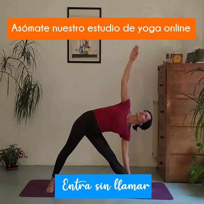 Estudio de yoga online